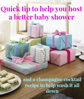 host a beter baby shower